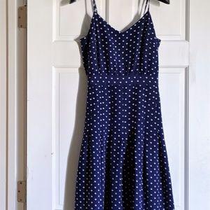 J. Crew 100% Silk Polka Dot Sheath Dress